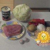 Рецепт борщу з буряками «монастирська трапеза»