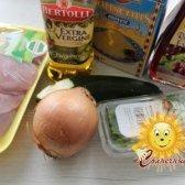 Салат з кускусом та індичкою