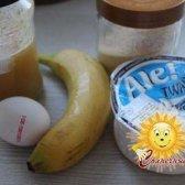 Сирно-банановий пудинг