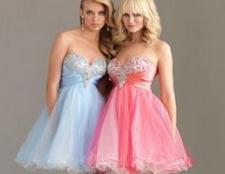 Класична мода - короткі вечірні сукні