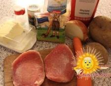 М'ясо в горщиках з картоплею