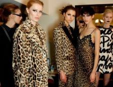 Модні тваринні принти в одязі.