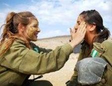 Прекрасна половина армії израиля