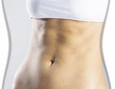 Спортивна інформація для дівчини для накачування м'язів преса